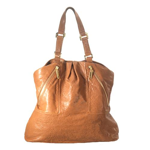 Tory Burch Leather Steffi Tote