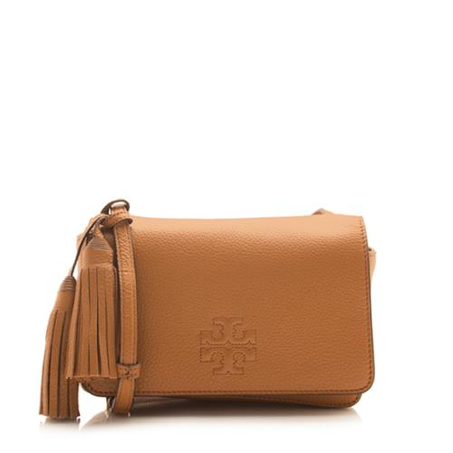 Tory Burch Leather Thea Mini Shoulder Bag