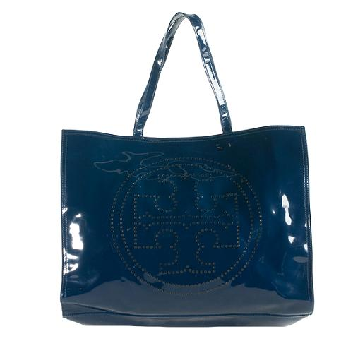 e7a853ecf1c Tory-Burch-Perforated-Patent-Leather-Logo-Tote 55190 front large 1.jpg