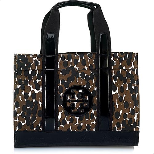 Tory Burch Printed Panther A Tory Tote
