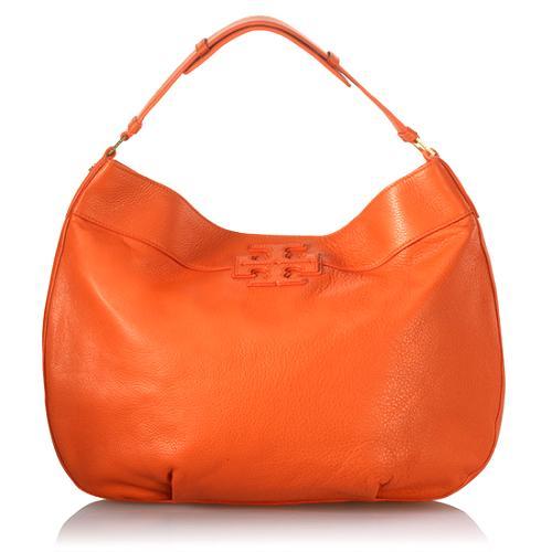 Tory Burch Stacked T Logo Hobo Handbag