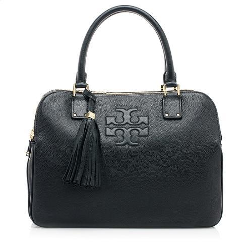Tory Burch Leather Thea Triple Zip Satchel