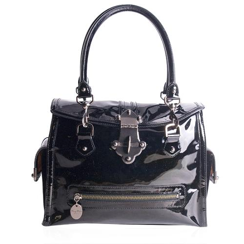 Tracey Reese Patent Leather Shoulder Handbag