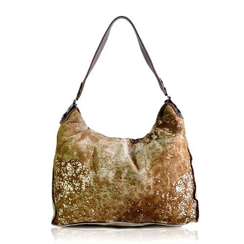 Tylie Malibu Crackled Shoulder Handbag