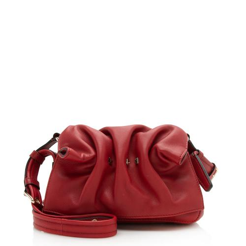 Valentino Calfskin Bloomy Mini Shoulder Bag