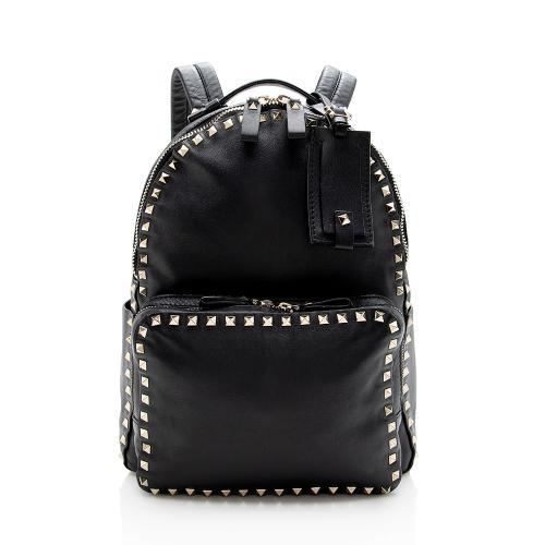 Valentino Calfskin Rockstud Medium Backpack