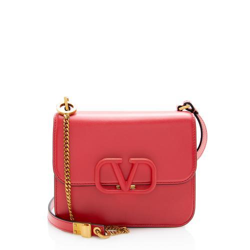 Valentino Calfskin VSling Small Shoulder Bag