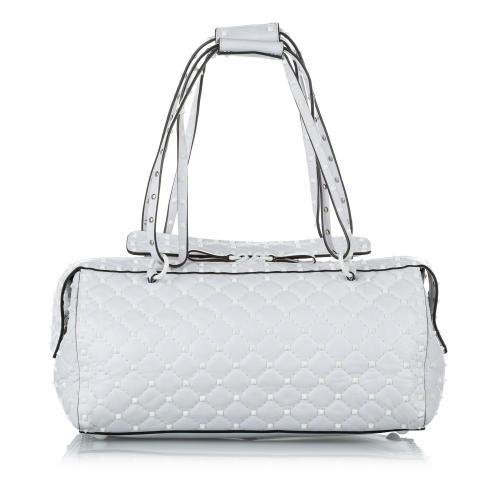 Valentino Free Rockstud Spike Leather Handbag