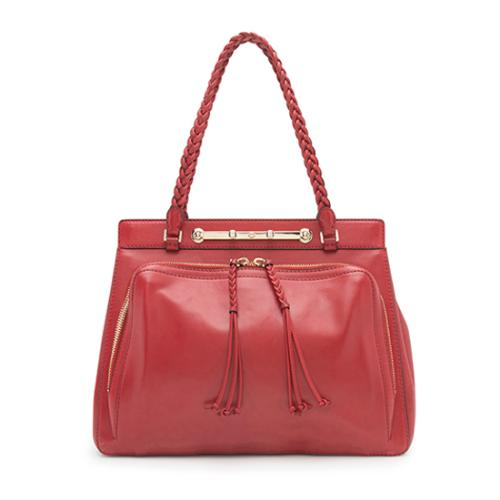 Valentino Leather Demetra Tote