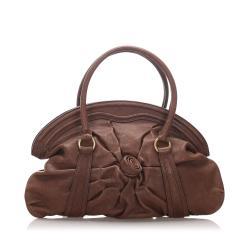 Valentino Leather Satchel
