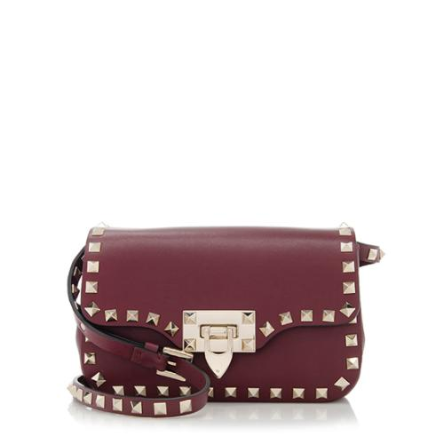 Valentino Leather Rockstud Mini Crossbody Bag