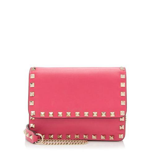 Valentino-Leather-Rockstud-Chain-Mini-Crossbody-Bag- 97182 front large 0.jpg e6eae028ae5c9