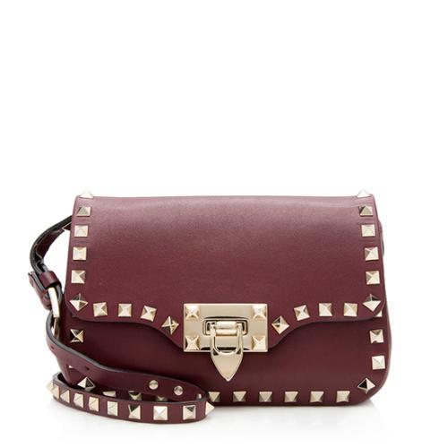 Valentino Leather Rockstud Mini Crossbody Bag