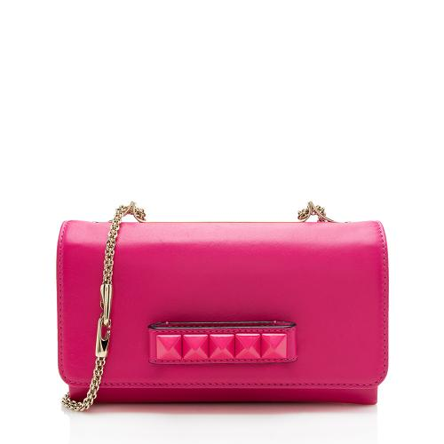 Valentino Leather Va Va Voom Shoulder Bag