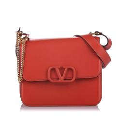 Valentino Medium VSling Leather Crossbody Bag