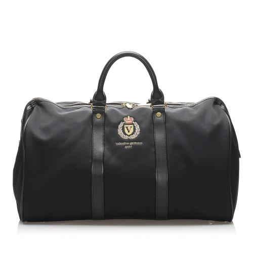 Valentino Nylon Boston Bag