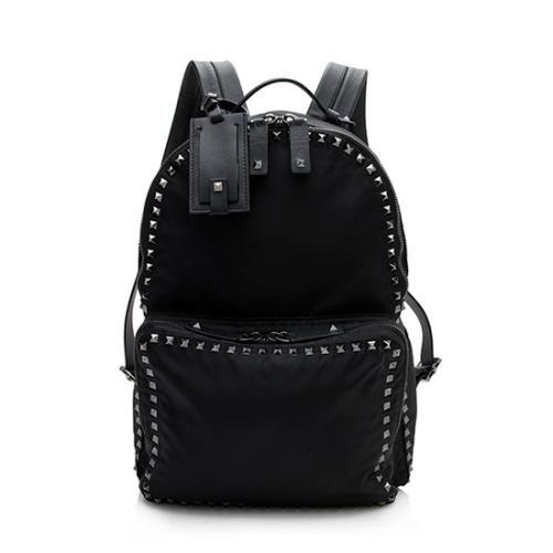 Valentino Nylon Rockstud Backpack