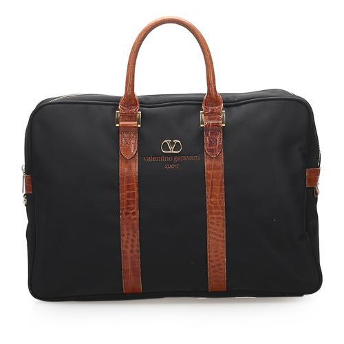 Valentino Nylon Sport Business Bag