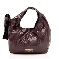 Valentino Patent Leather Nuage Bow Tote