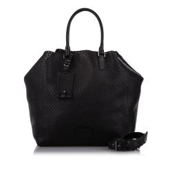 Valentino Perforated Leather Tote