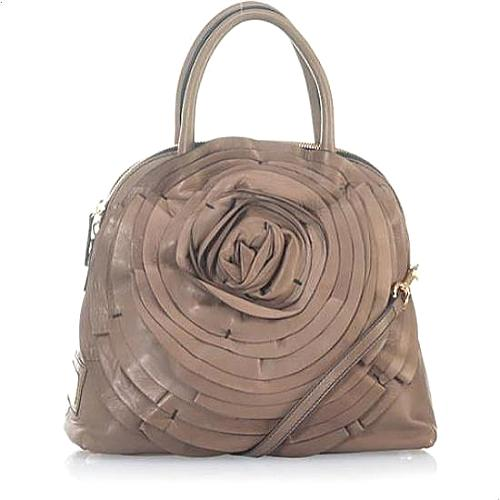 Valentino Petale Rose Dome Handbag