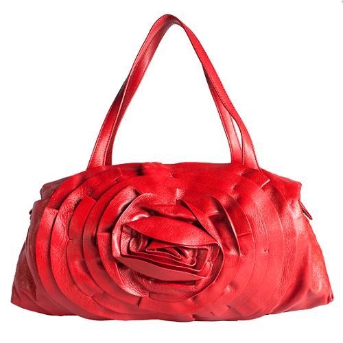 Valentino Petale Satchel Handbag