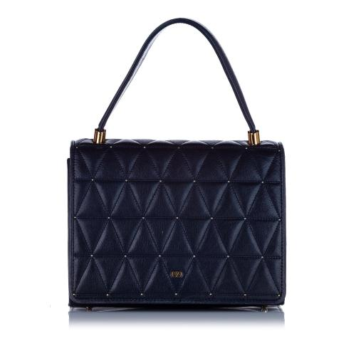 Valentino Quilted Leather Handbag