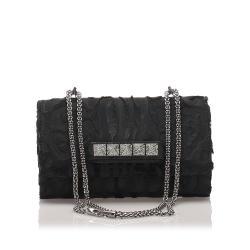 Valentino Velvet Rockstud VaVa Voom Crossbody Bag