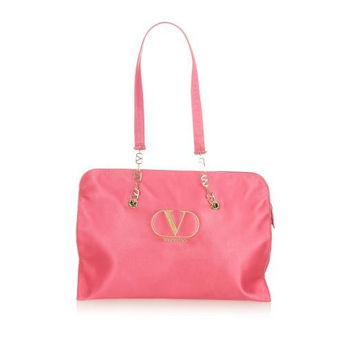 Valentino Satin Tote Bag