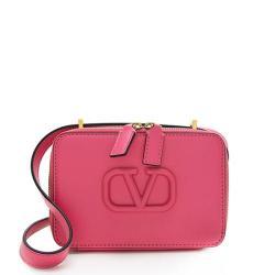 Valentino Smooth Calfskin VSLING Small Camera Crossbody Bag