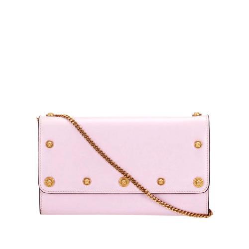 Versace Leather Chain Crossbody Bag