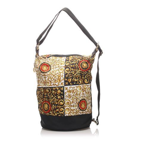 Versace Nylon Medusa Shoulder Bag