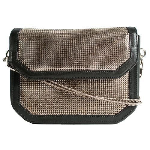 Versace Metallic Evening Shoulder Handbag