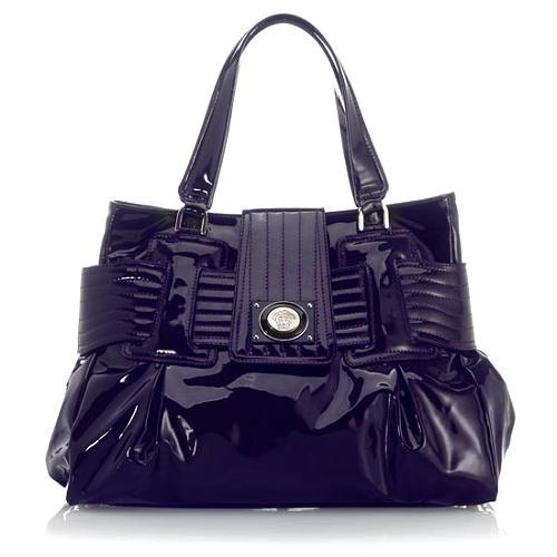 Versace Patent Leather Satchel