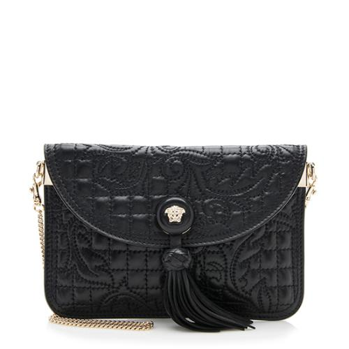 Chain Barocco Quilted Nappa Pouch Versace Crossbody Bag 6tqB6
