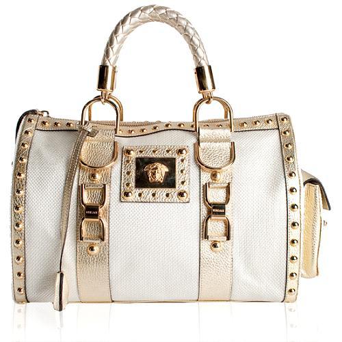 8610b4f289 Versace  Snap Out Of It  Satchel Handbag