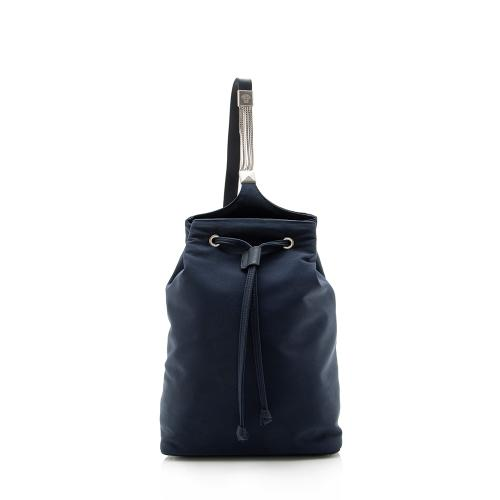 Versace Vintage Nylon Chain Sling Backpack