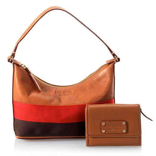 kate spade Aimee Sienna Small Shoulder Handbag With Matching Wallet