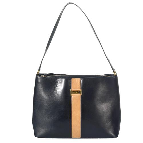 kate spade Autographed Leather Shoulder Handbag