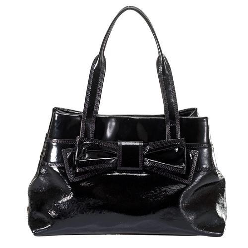 kate spade Bow Patent Leather Handbag
