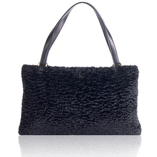 kate spade Faux Broadtail Shoulder Handbag