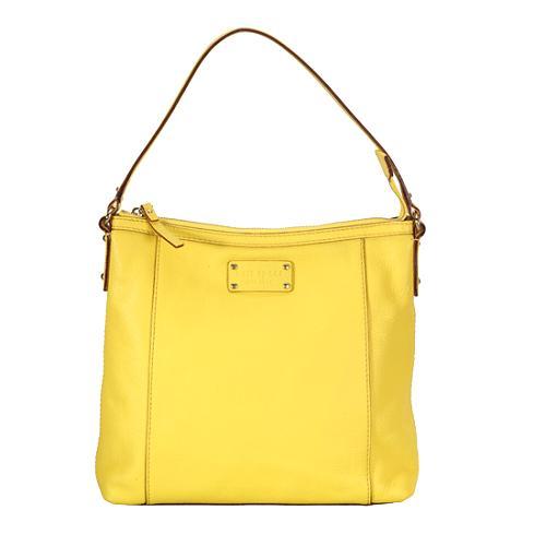 kate spade Flat Serena Small Leather Shoulder Handbag