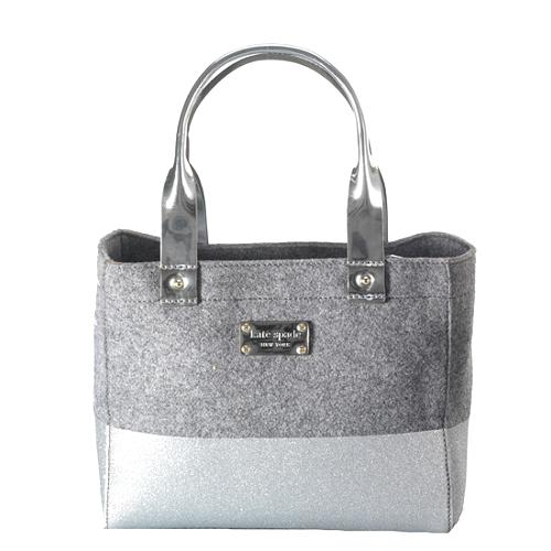 kate spade Frosted Felt Magazine Tote
