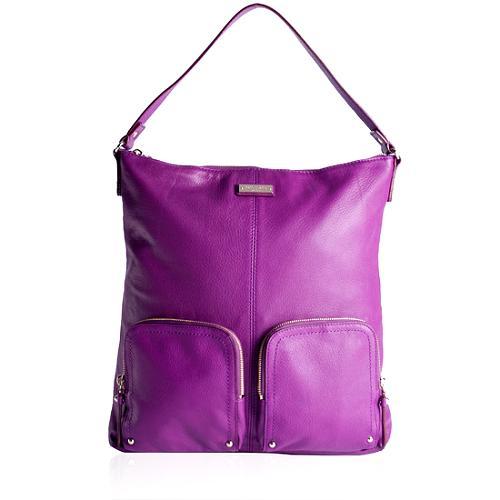 kate spade La Casita Ginnifer Leather Hobo Handbag