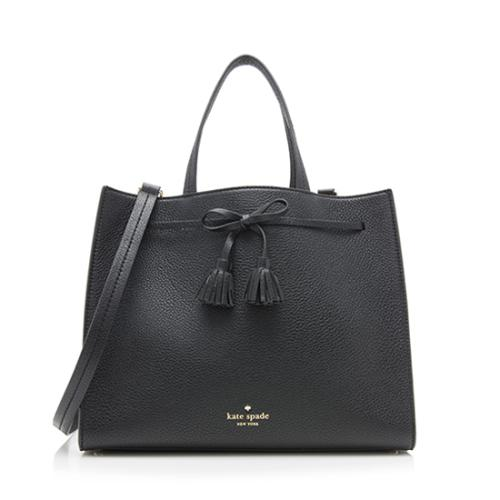 kate spade Leather Hayes Street Isobel Satchel