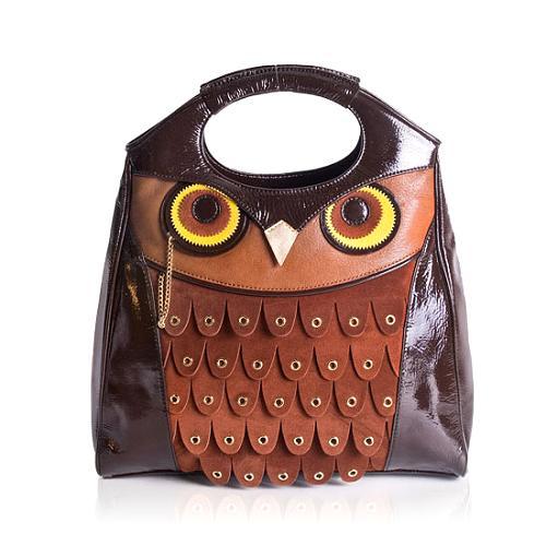 kate spade Maximillian Maxwell Owl Satchel Handbag