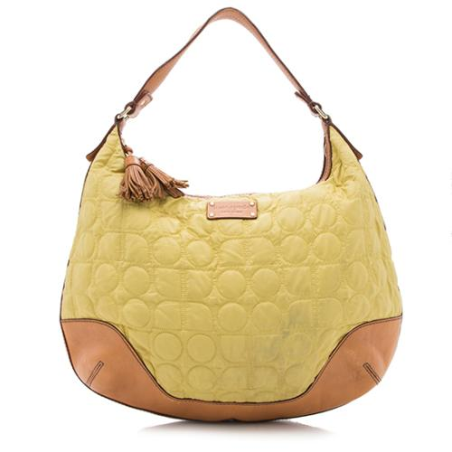 kate spade Nylon Leather Bedford Street Noel Jillian Hobo - FINAL SALE
