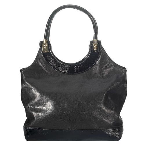 kate spade Patent Trim Leather Shoulder Handbag