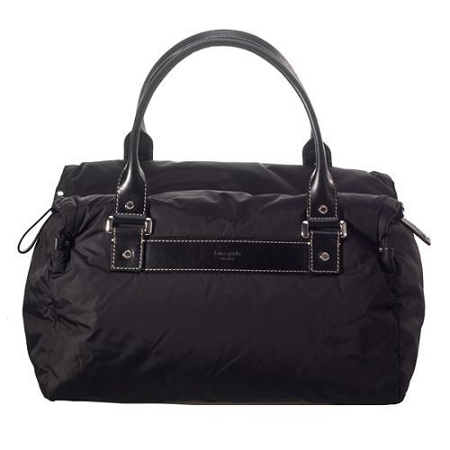 kate spade Puffy Nylon Satchel Handbag