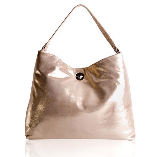 kate spade Sutton Place Metallic Small Natia Shoulder Handbag